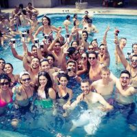 Fist time in greater noida ( student pool party )