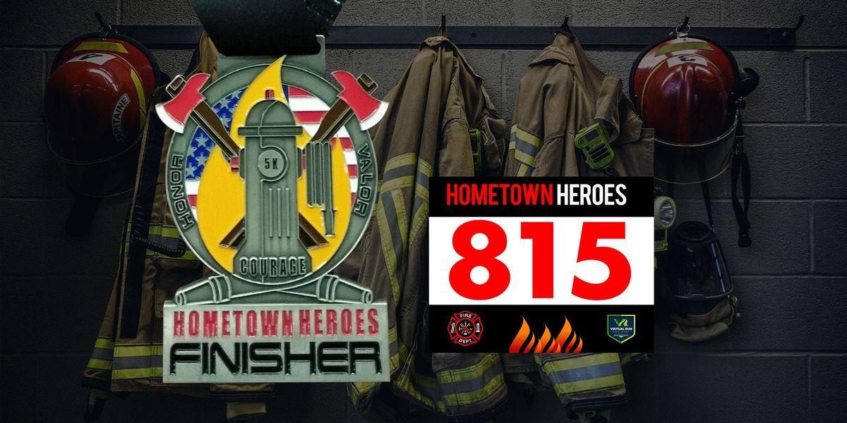 Hometown Heroes Firefighter Virtual 5k Run Walk - Columbus