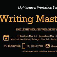 Lightweaver Writing Masterclass Hyd