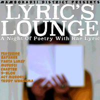 Lyrics Lounge A Night Of Poetry With Rae Lyric