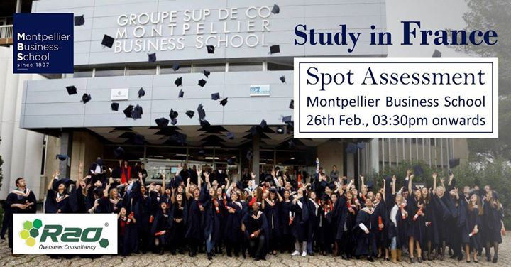 Study in France - Montpellier Business School
