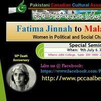 Fatima Jinnah to Malala Yousufzai