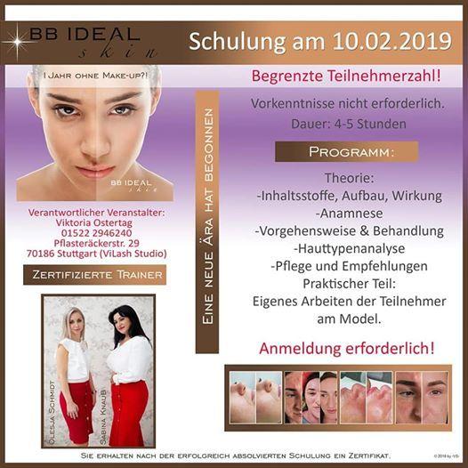 BB Ideal Skin Schulung Stuttgart