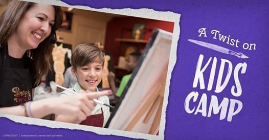 Kids Summer Camp Artist Week At Painting With A Twist Davie Fl