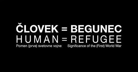 Kje je meja lovek je begunec.