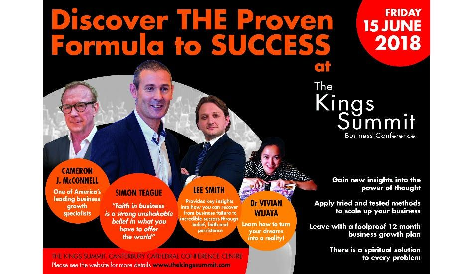 The Kings Summit - A Business Scale Up Conference