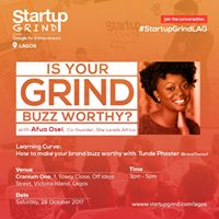 Startup Grind hosts Afua Osei (Co-Founder She Leads Africa)