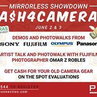 Cash4Cameras &amp Mirrorless Showdown at Pixel Connection