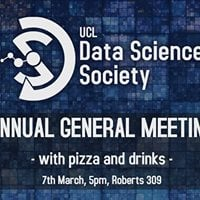 UCL Data Science Society AGM