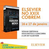 Elsevier marca presena no XXIX Cobrem 2017