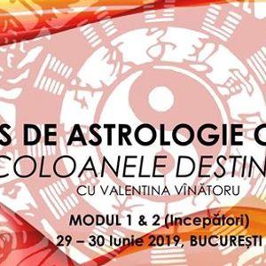 Curs de Astrologie Chineza Traditionala 29-30 Iunie Bucuresti