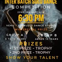 Inter Batch Solo Dance Competition