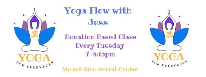 Yoga flow with Jess - Donation based