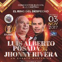 Concierto luis alberto posada vs jhony rivera