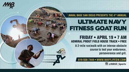 Ultimate Navy Fitness Goat Run At Admiral Prout Field House Gym And