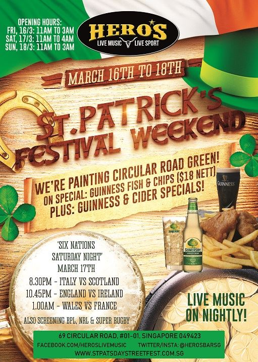 St Patricks Weekend Shenanigans