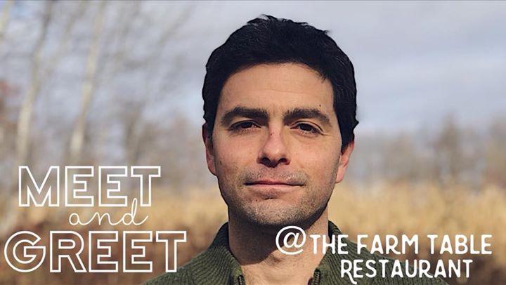MeetGreet With John At The Farm Table In Amery Amery - Farm table restaurant amery