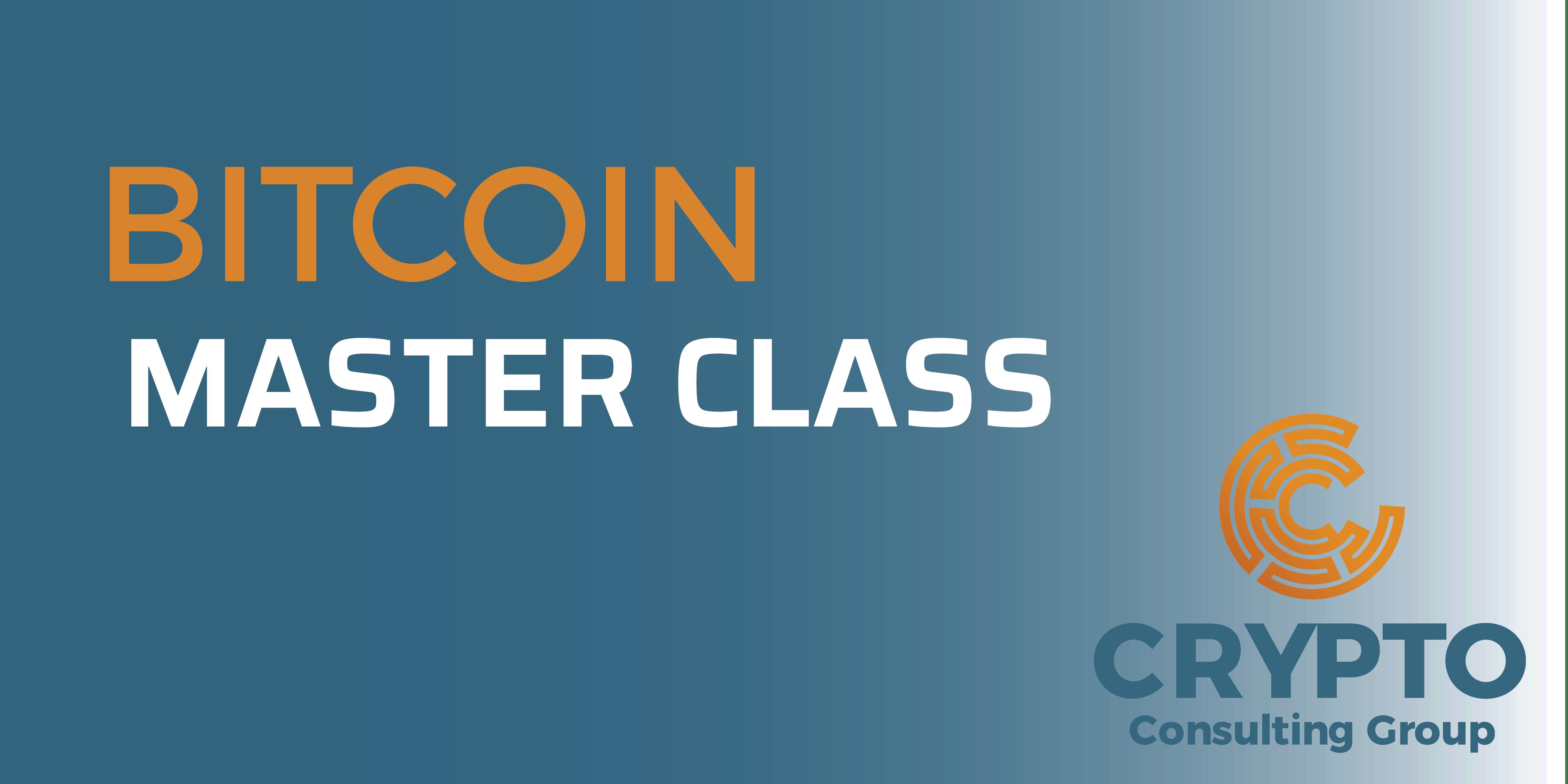 Bitcoin Master Class