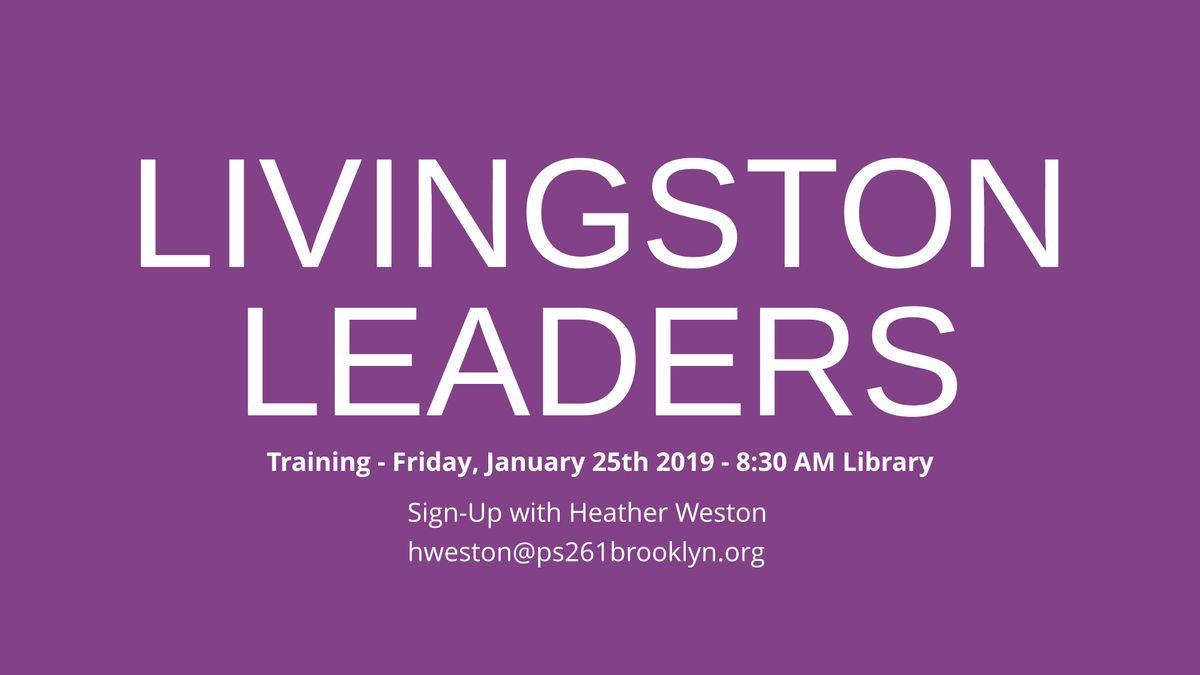 Livingston Leaders Training