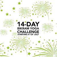 14-Day Bikram Yoga Challenge
