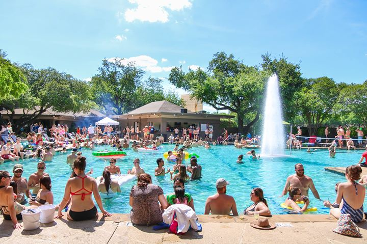 Spiked Summer Pool Parties At The Village Dallas Dallas
