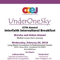 Under One Sky 27th Interfaith Intercultural Breakfast