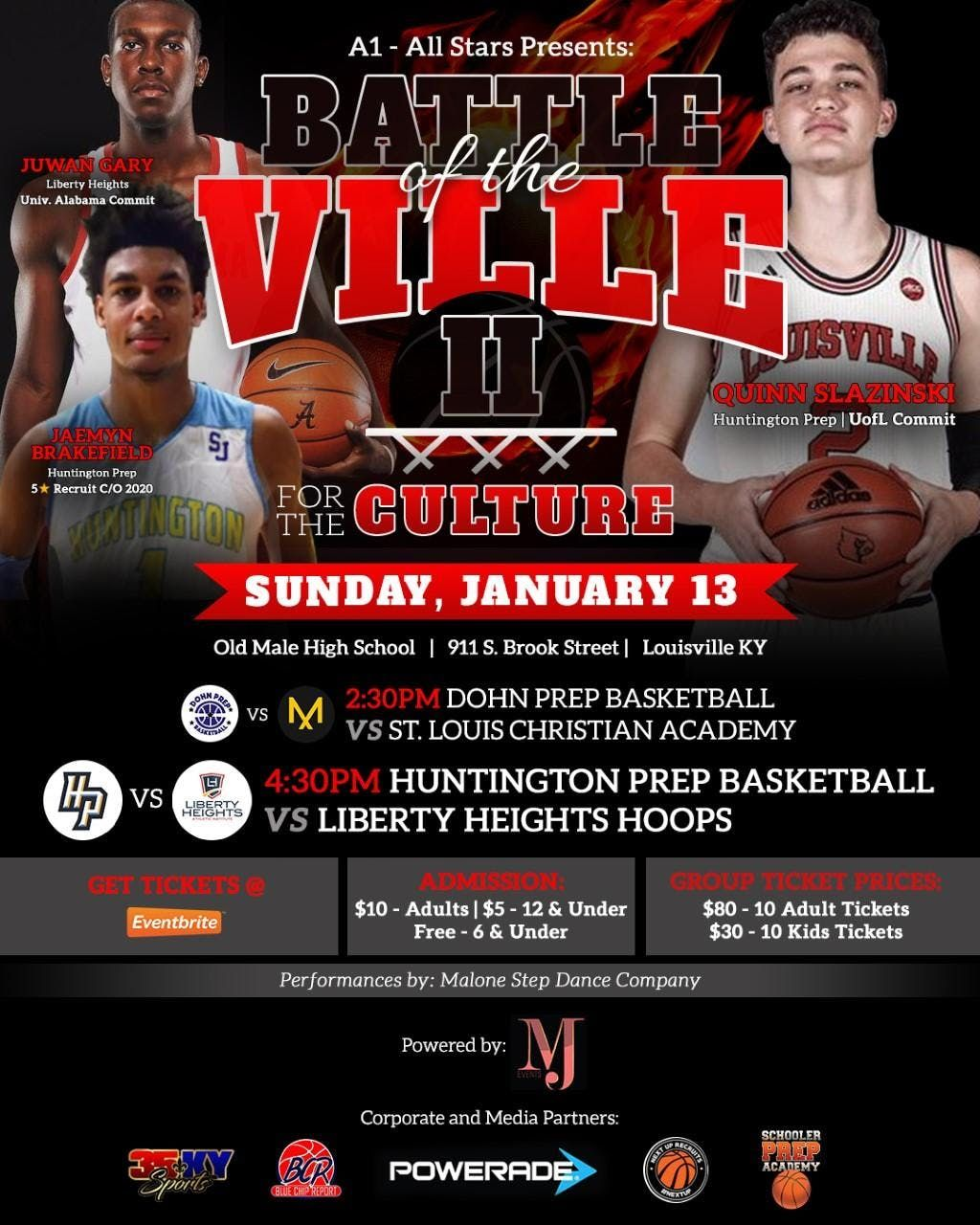 Battle of the Ville II For the Culture