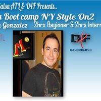 4hr Salsa NY Style Salsa ON2 w Ruben Gonzalez D4F Dance Studio