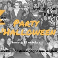 Halloween salsa party - Horreur  Blue Mambo