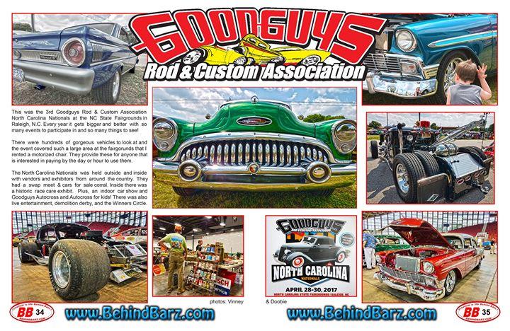 Goodguys Th North Carolina Nationals At Blue Ridge Blvd - Car show raleigh nc fairgrounds
