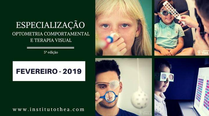 Especializao em Optometria Comportamental e Terapia Visual