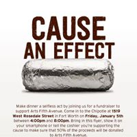 Arts Fifth Avenue Fundraiser at Chipotle
