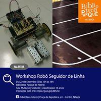Palestra sobre Robtica  Workshop Rob seguidor de linha