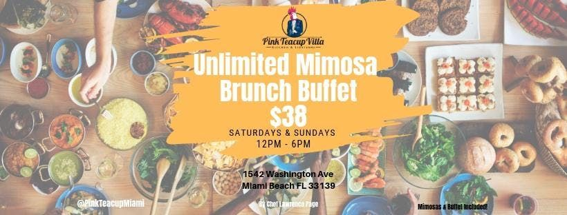 Unlimited Mimosa Brunch Buffet 38
