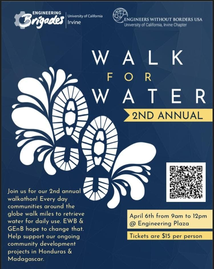 2nd Annual Walk for Water at UCI