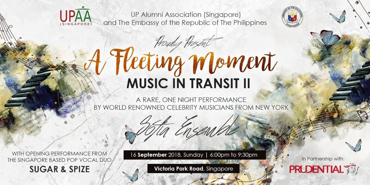 A Fleeting Moment Music in Transit II
