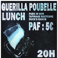 Concert Punk  Nice - Guerilla Poubelle Lunch et groupes locaux