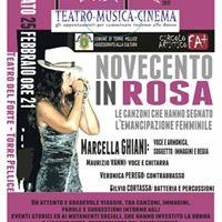 Novecento in Rosa - spettacolo musicale