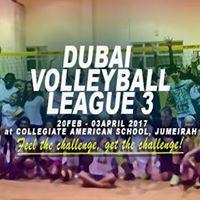 Dubai Volleyball League 3 - Registration Now Open