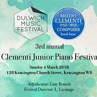 Clementi Junior Piano Festival