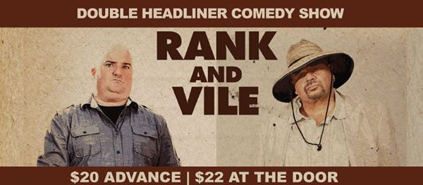 RANK and VILE - Darren Frost & Kenny Robinson Show