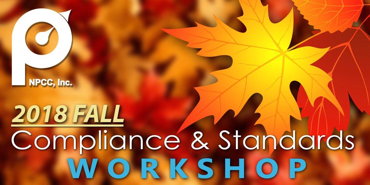 2018 NPCC Fall Compliance & Standards Workshop