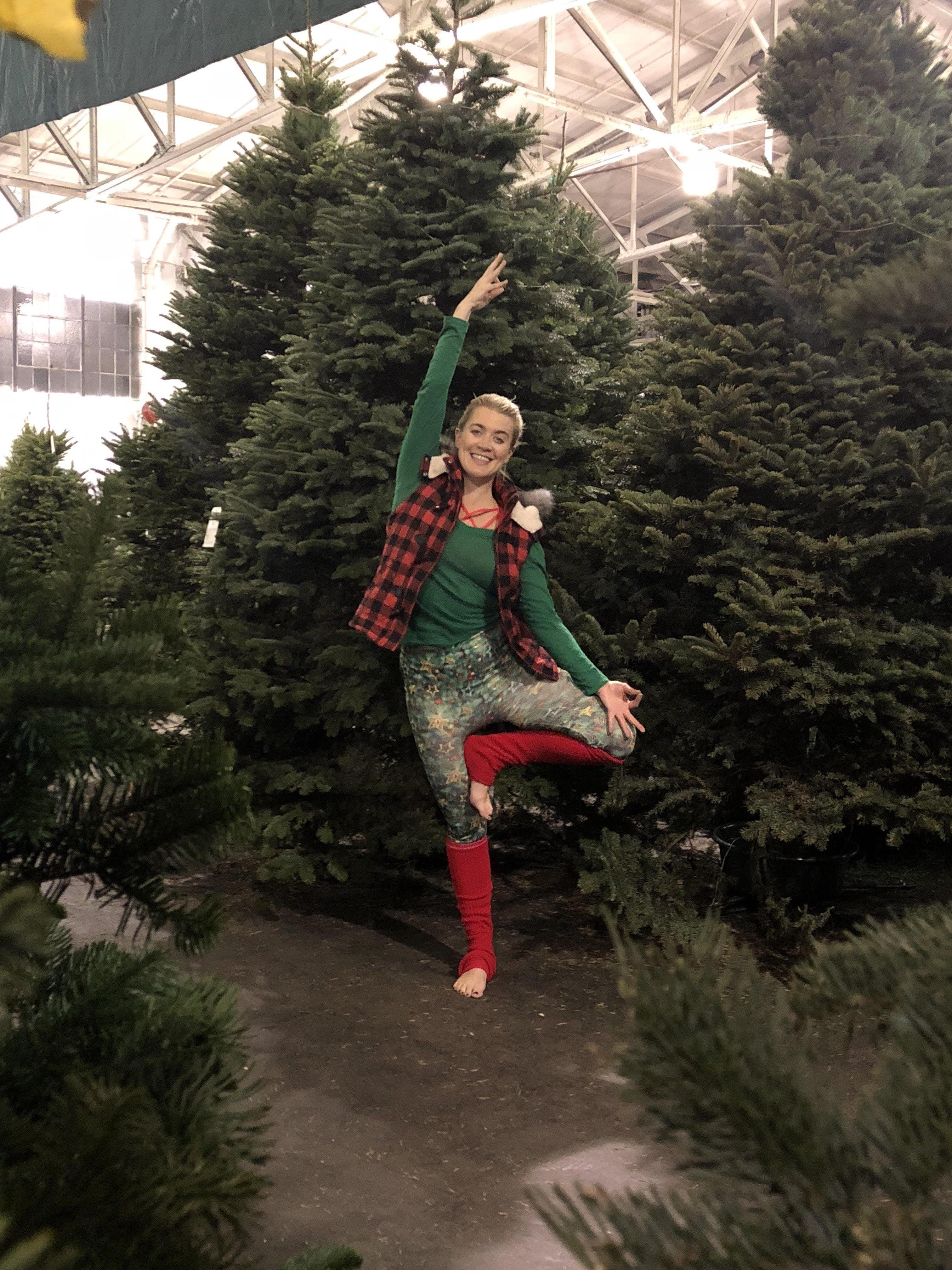 Vinyasa & Vino at The Guardsmen Tree Lot - December 9th