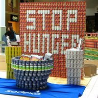 Canstruction Miami May 11th Lets stop hunger