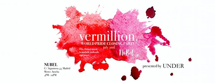 Vermillion World Pride Closing Party At Nubel Museo Reina