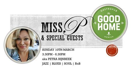 Live Music Sun 10th March Miss P