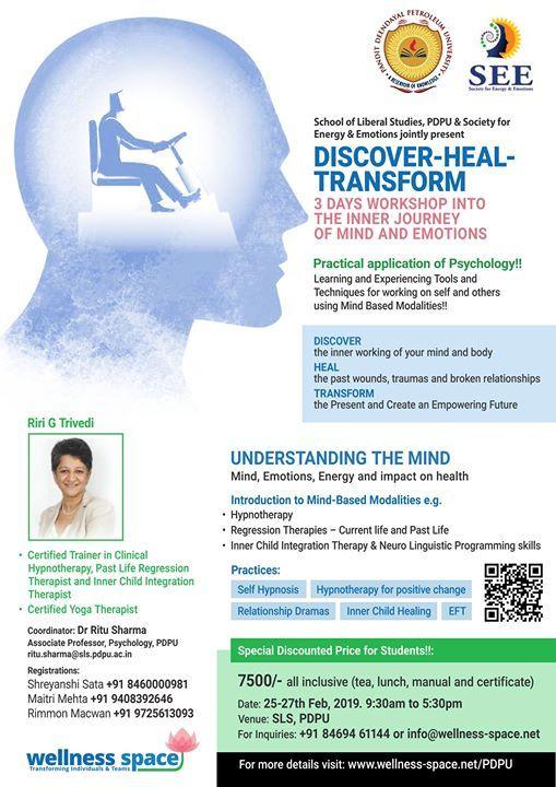 Discover-Heal-Transform (Inner Journey I)
