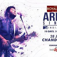 Arijit Singh India Tour  Chandigarh