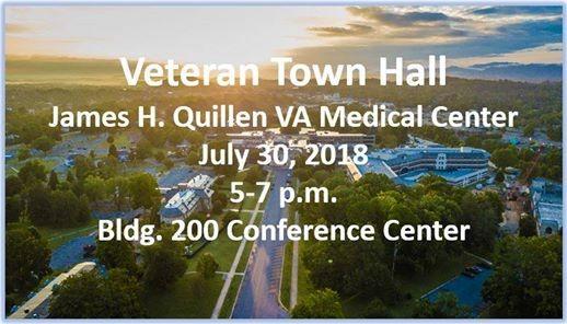 Veteran Town Hall At James H Quillen Va Medical Center Mountain