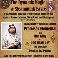 Dynamic Magic &amp Steampunk Fayre at &quotBlack Market VIP&quot Hastings